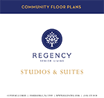 Regency Senior Living Mini Brochure