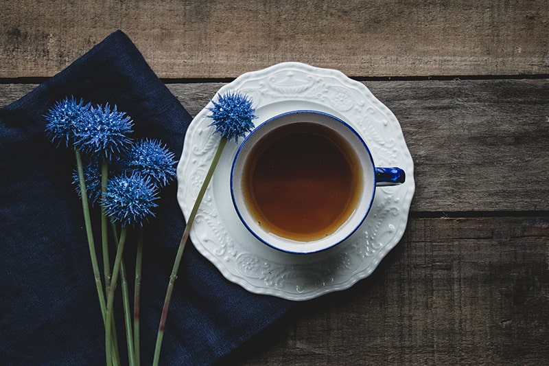 hot tea month