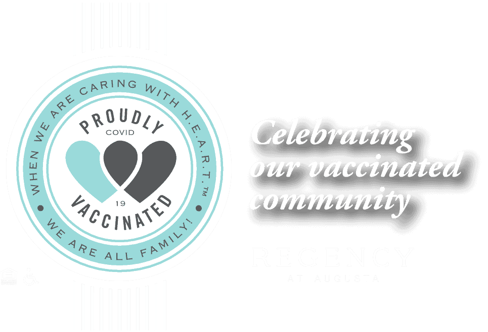 Celebrating our vaccinated community at Regency Senior Living