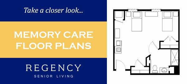 Memory Care Floor Plans at Regency Senior Living